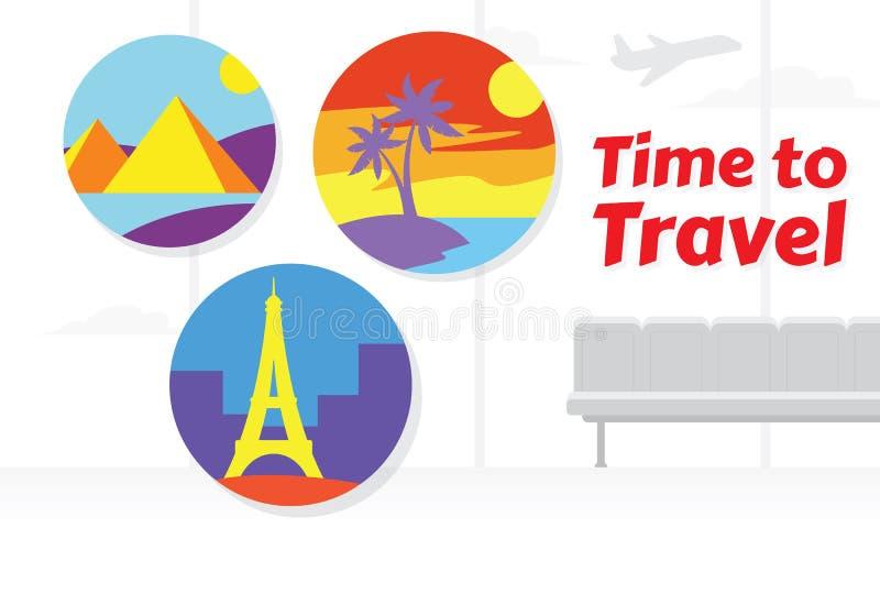 Feriendesign f?r Reise lizenzfreie abbildung