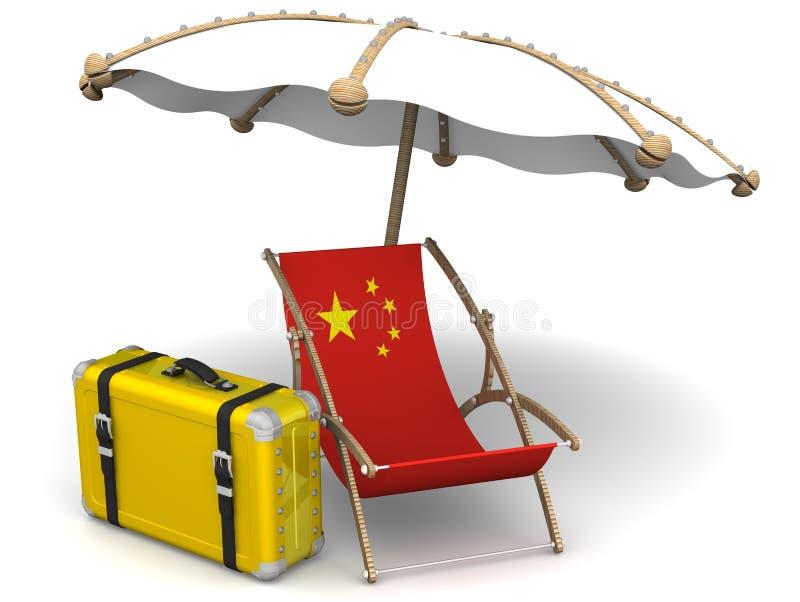 Ferier i Kina Begrepp royaltyfri illustrationer