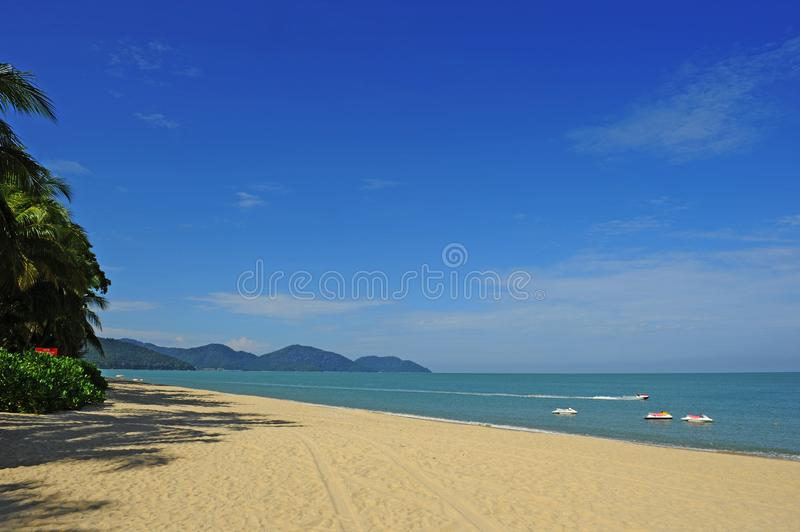FERINGGI BEACH royalty free stock image