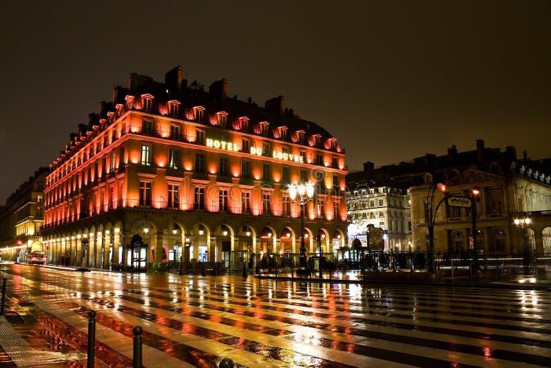 Feritoia Dell Hotel, Parigi Fotografia Stock Libera da Diritti