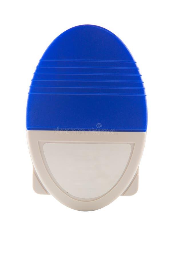 Fermé vers le haut de l'inhalateur d'asthme de poudre photographie stock