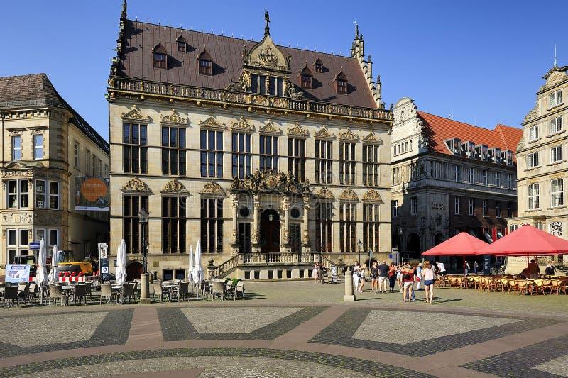Fermant (palais de corporations), Brême, Allemagne photo stock