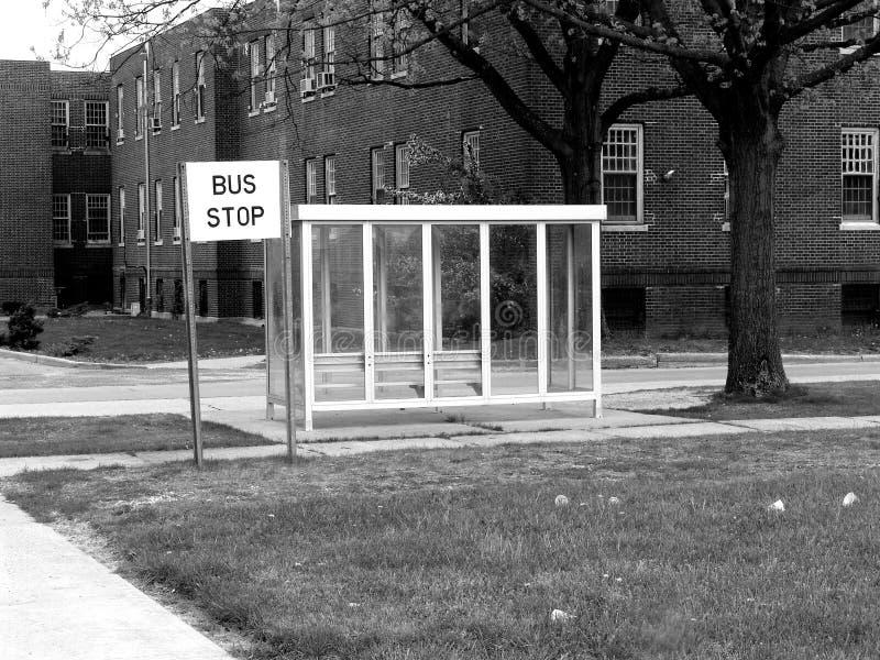 Fermata Dell Autobus Fotografie Stock Libere da Diritti