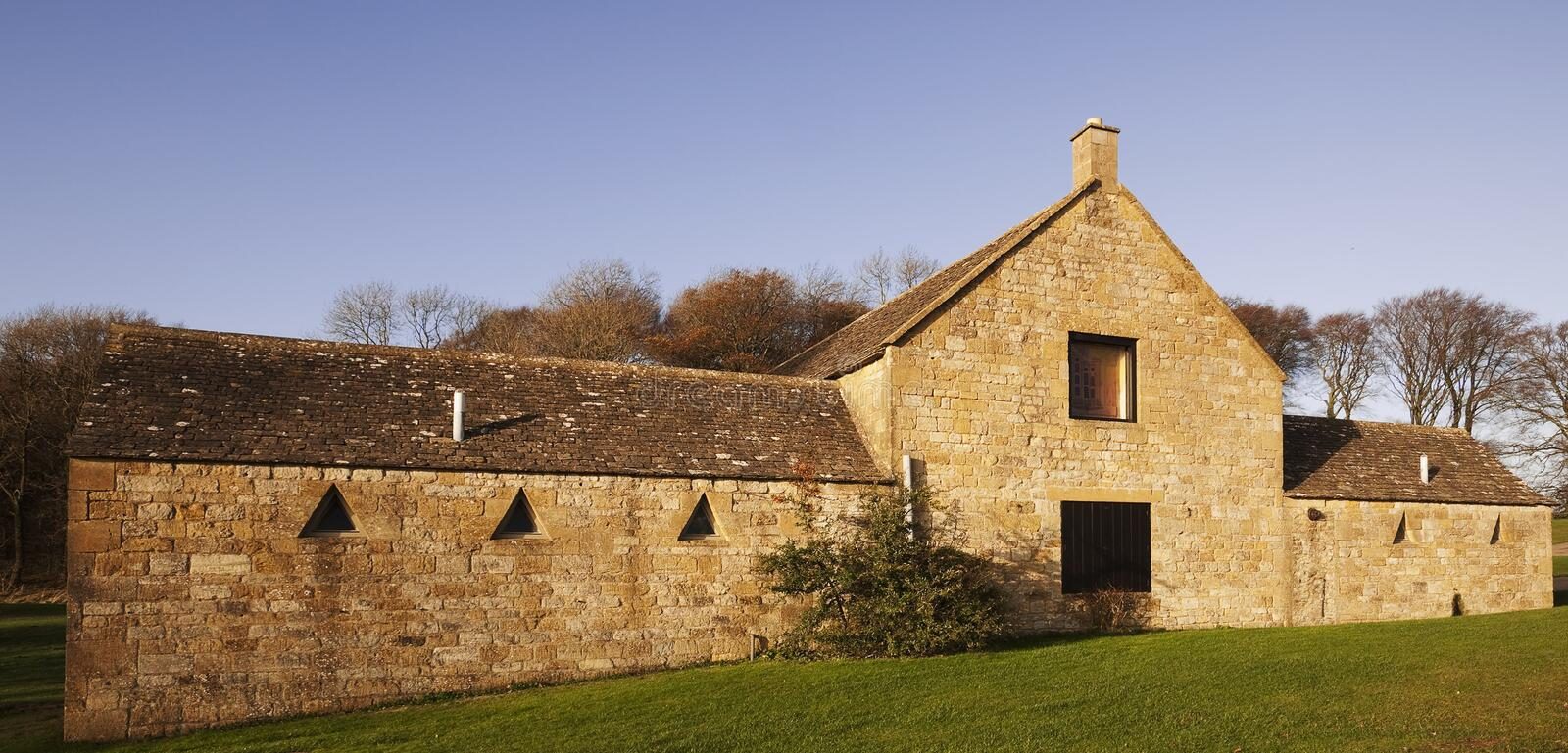 Ferme de Cotswold photo stock