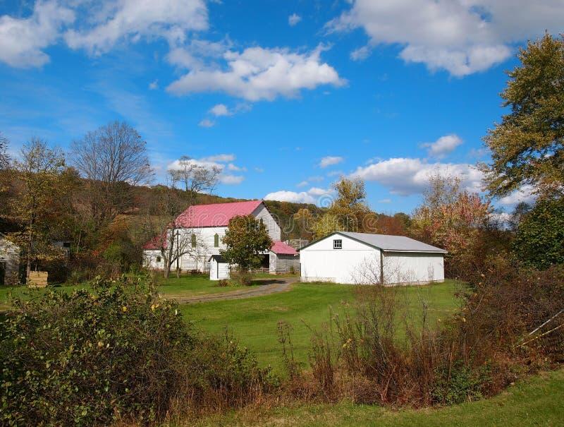 Ferme de Dromgold en Perry County Pennsylvania images libres de droits