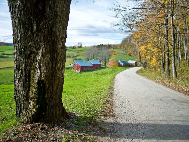 Ferme de Jenne, Vermontn image stock