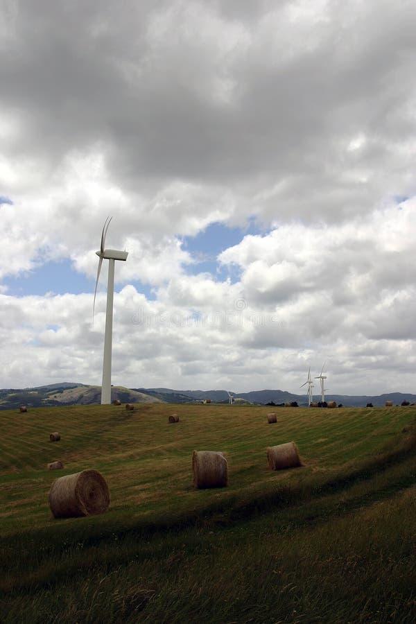 Ferme de vent photos libres de droits