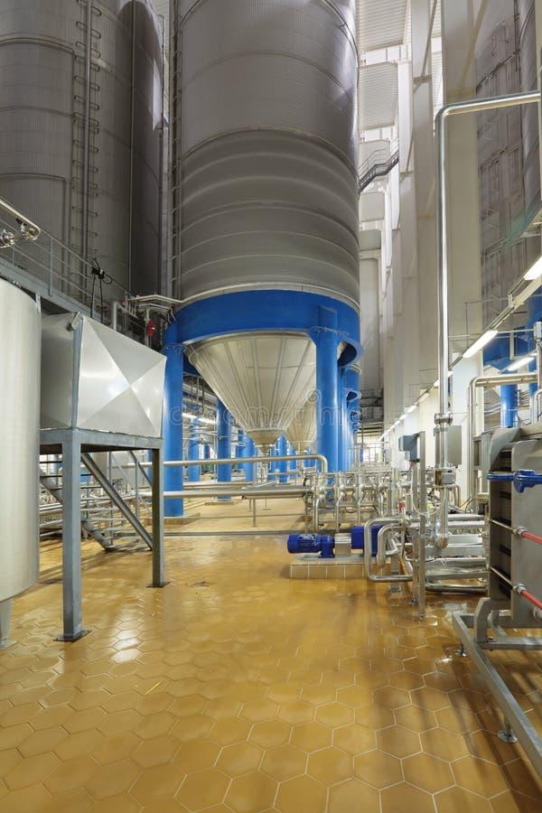 Fermentacja zbiornik zdjęcie stock