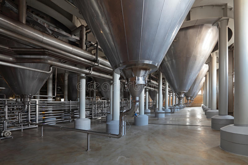 Download Fermentation department stock image. Image of brewery - 37895859