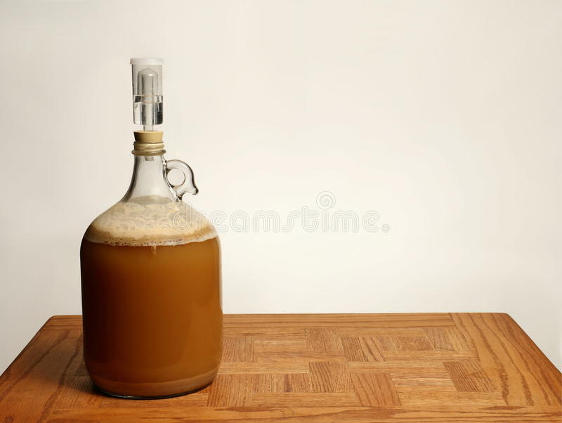 Download Fermenting Homebrew Beer stock image. Image of carboy - 83706333