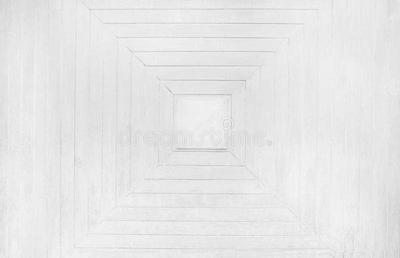 Fermer la surface du bois en motifs carrés abstraction fond blanc ou gris image libre de droits