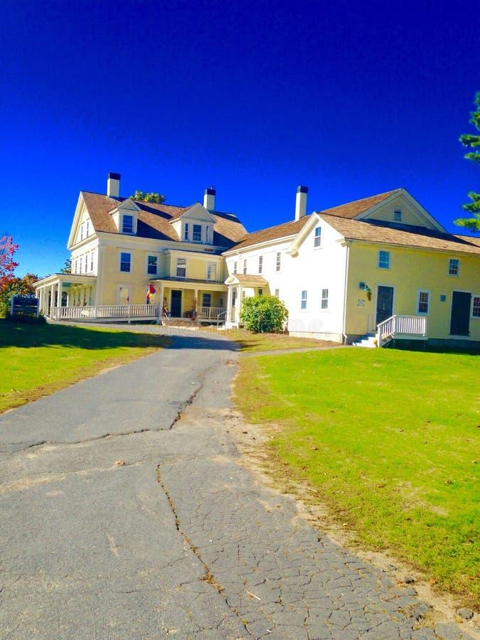 Fermes dans Maine photos libres de droits