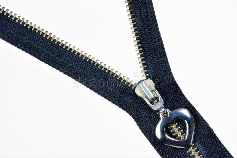 Fermeture de tirette - fond pour la couture de couture créative de conception et de tailleur Tirette, genre d'attaches, chez les  image stock