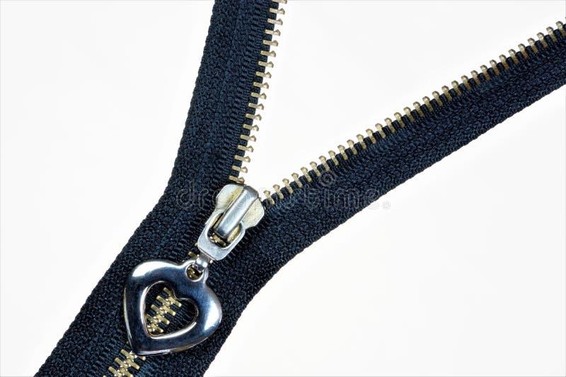 Fermeture de tirette - fond pour la couture de couture créative de conception et de tailleur Tirette, genre d'attaches, chez les  image libre de droits