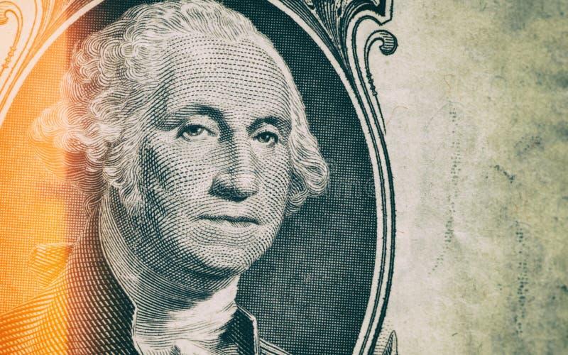 Fermez-vous chez George Washington Portrait image libre de droits