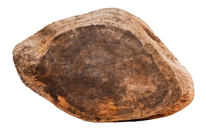 Fermez-vous d'un en bois vide se connectent le fond blanc avec le clippi photos libres de droits