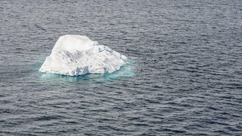 Fermez-vous de l'iceberg dans la baie de l'Antarctique images stock
