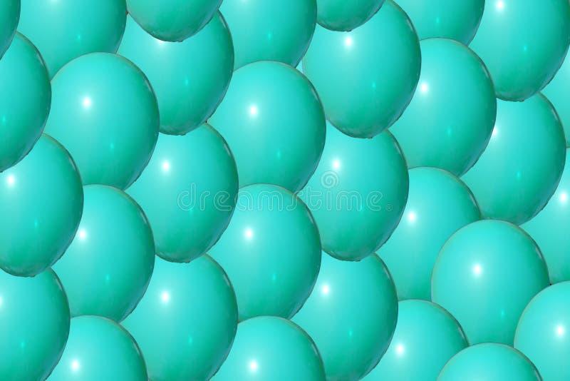 Fermez-vous de la boule bleue colorée en plastique au terrain de jeu photographie stock