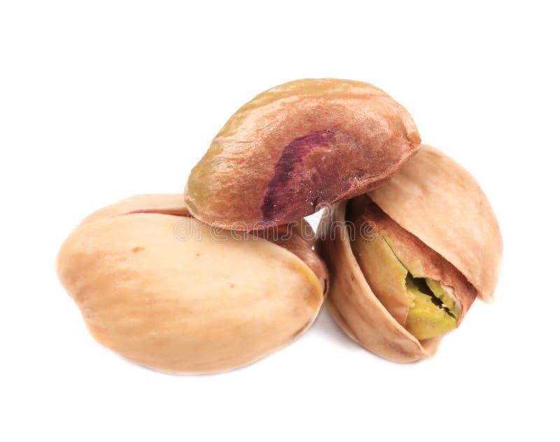 Fermez-vous des pistaches. photo libre de droits