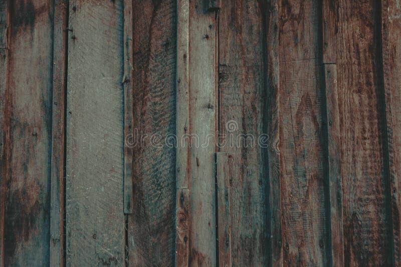 Fermez-vous du mur fait de planches en bois photographie stock libre de droits