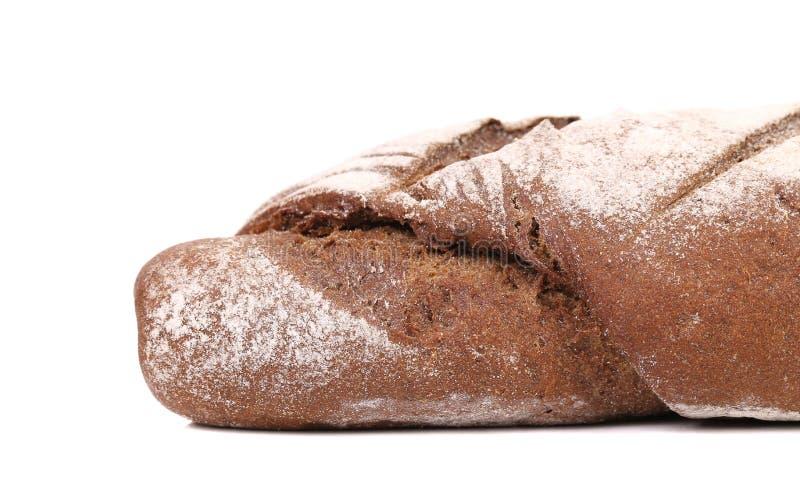 Fermez-vous du pain brun. photographie stock