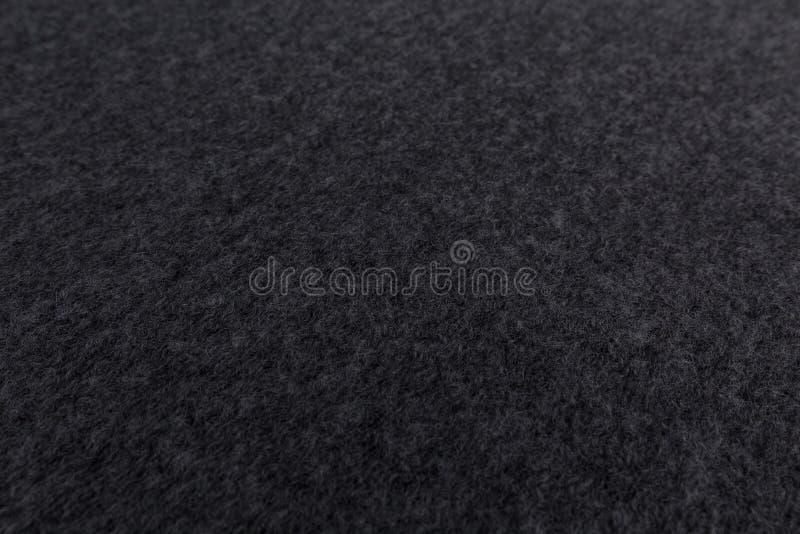 Fermez-vous du tissu gris avec le fond de texture de textile photo libre de droits