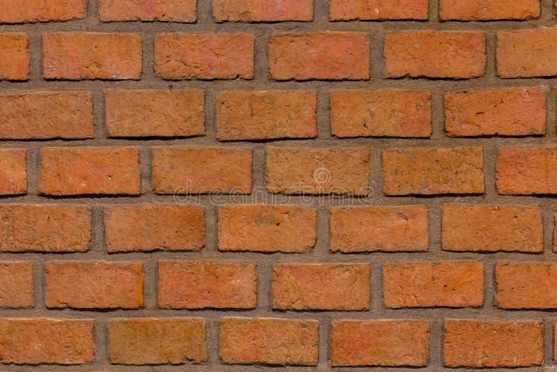 Fermez-vous du vieux backgroun rouge extérieur de grunge de texture de mur de briques photos libres de droits