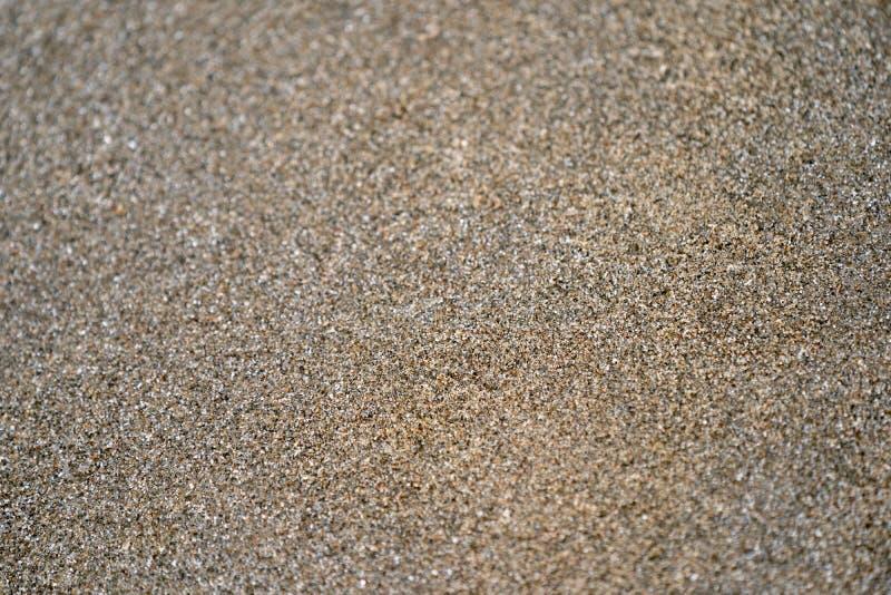Fermez-vous et macro brun fonc? et sable noir pour n'importe quel fond image libre de droits