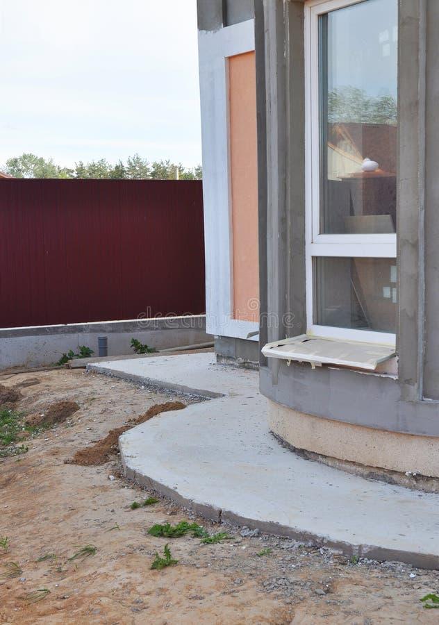 Fermez-Vous Sur L'Extérieur De Imperméabilisation De Mur De Maison