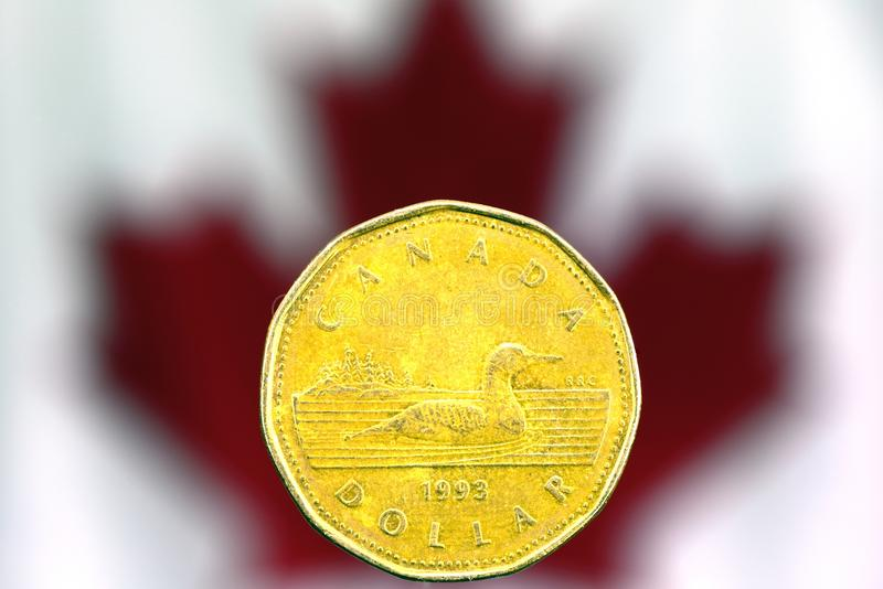 Dollar canadien photo stock