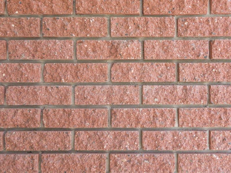 Fermez-vous vers le haut de la texture du mur de briques rouge idéal photos stock
