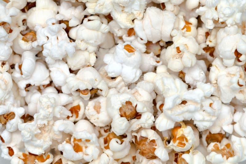 Fermez-vous vers le haut de la vue du maïs de bruit blanc photo libre de droits