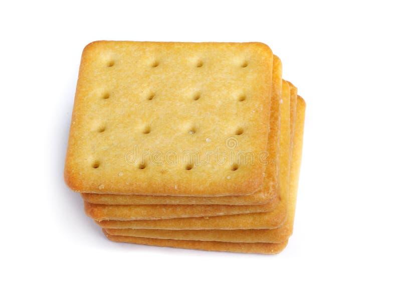 Fermez-vous vers le haut des biscuits délicieux photos libres de droits
