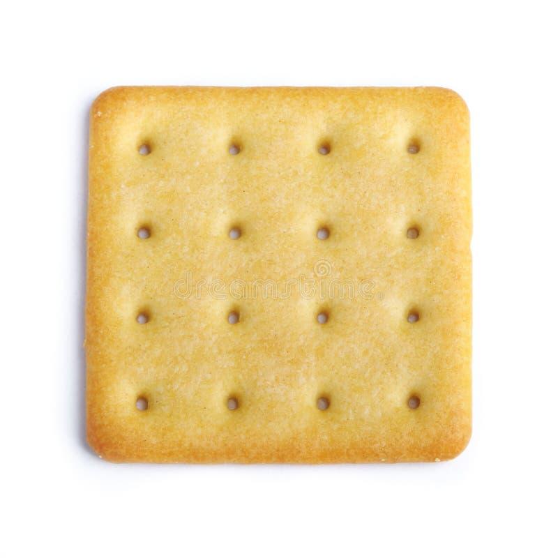 Fermez-vous vers le haut du biscuit délicieux images stock