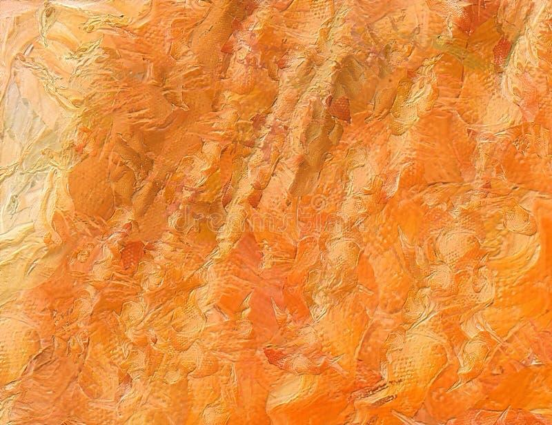 Fermez-vous vers le haut du fond d'abrégé sur peinture à l'huile Traçage texturisé d'art illustration de vecteur