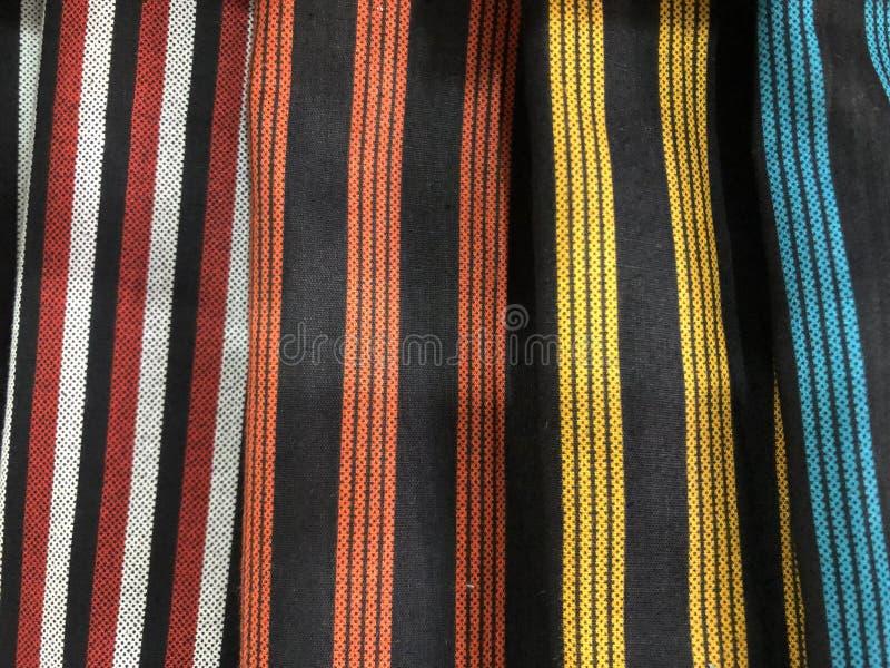 Fermez-vous vers le haut du tissu coloré et beau de batik Batik Javanese Batik indon?sien photos libres de droits