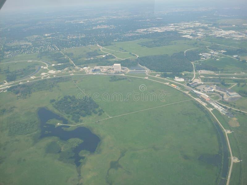 Fermilab Batavia, IL arkivfoton
