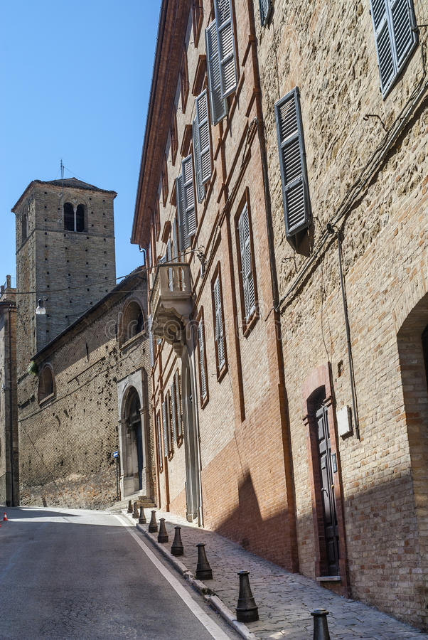 Fermo - Historic Buildings Stock Images