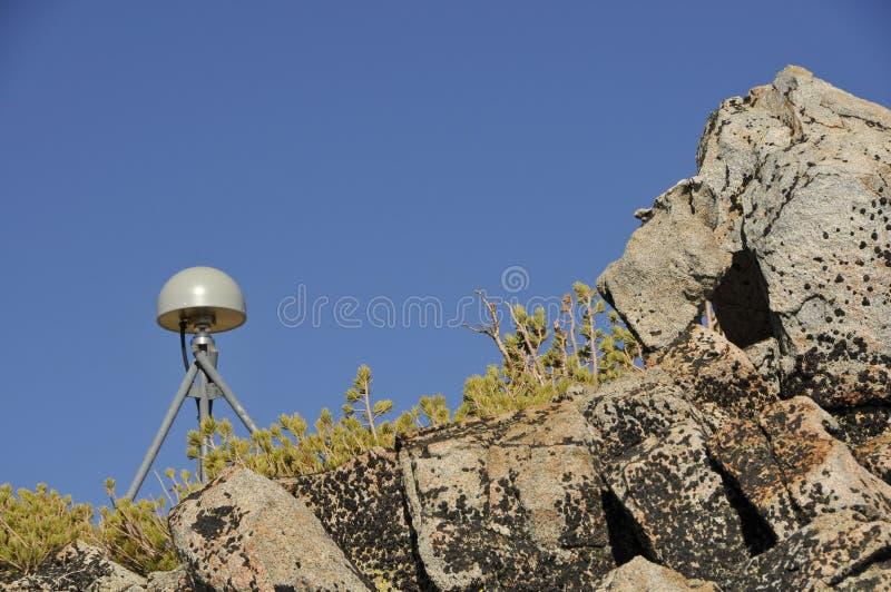 Fern-GPS-Antenne stockfoto