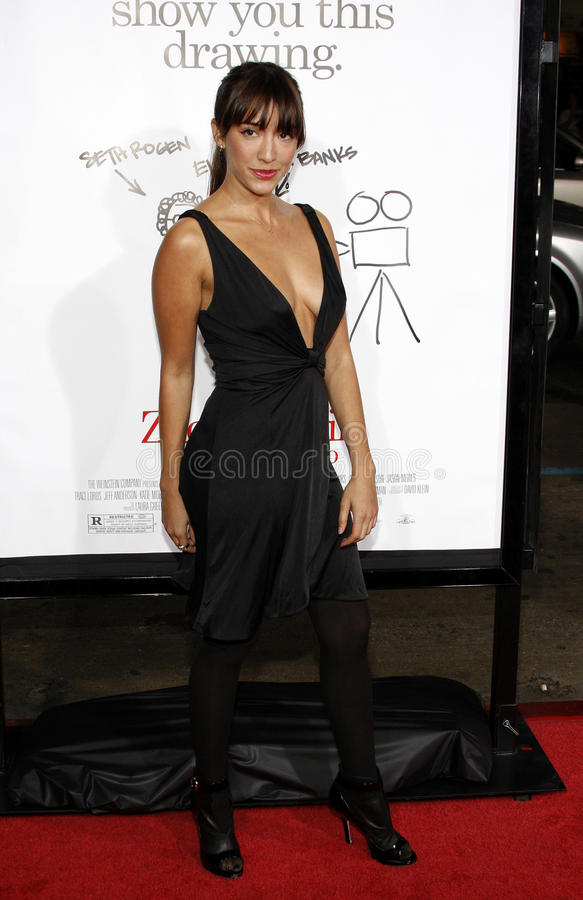 Fernanda Romero. At the Los Angeles premiere of 'Zack And Miri Make A Porno' held at the Grauman's Chinese Theater in Hollywood on October 20, 2008 stock photos