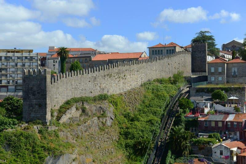 Fernandina ściana, Porto, Portugalia zdjęcia stock