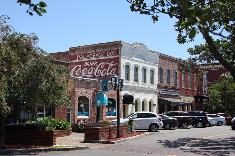 Fernandina Beach. Is a city in Nassau County, Florida, United States royalty free stock image