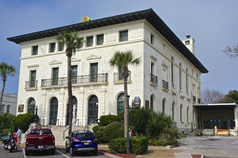 Fernandina Beach, Floryda, Stany Zjednoczone Ameryki: Architektura renesansu obrazy royalty free