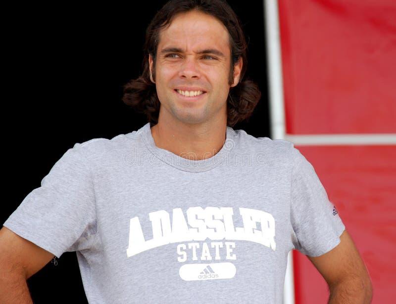 Fernando 2008 Gonzalez olimpijski zupełnie niespodziewanie zdjęcia royalty free