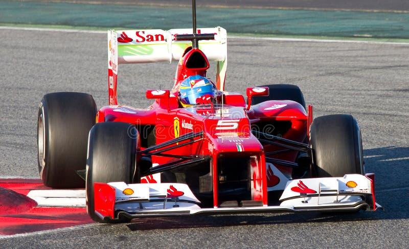 Fernando Alonso στοκ φωτογραφία