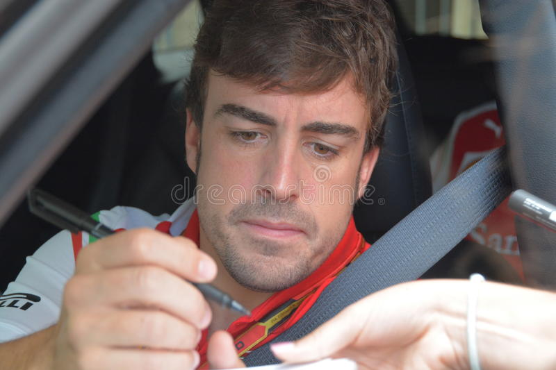 Download Fernando Alonso Editorial Stock Photo - Image: 43088063