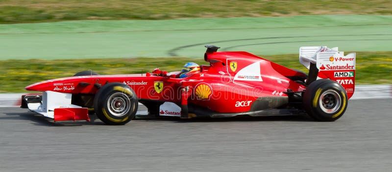 Fernando Alonso (Ferrari) photo stock