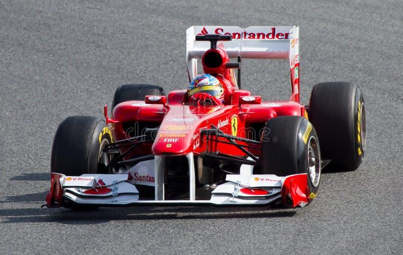 Fernando Alonso Ferrari F1 Redaktionelles Stockfoto Bild Von Antreiben 19507833