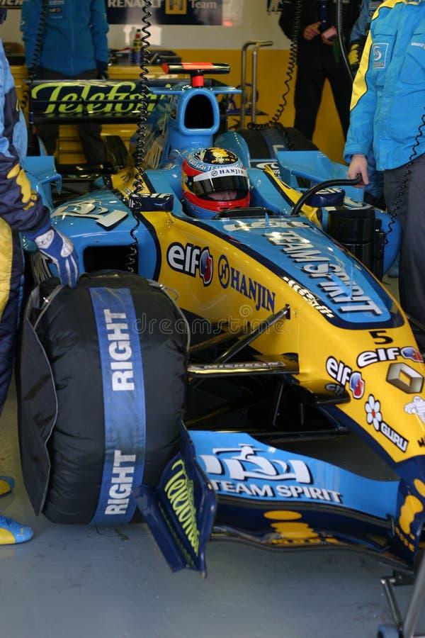 Fernando Alonso, Formula1 2005 Season. royalty free stock image