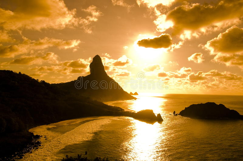 Fernando de Noronha - Brazilië royalty-vrije stock afbeelding